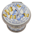 "2015 Mother's Day box (01/10450) 1.62"" diameter x 1.18"" tall."