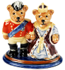 "Teddies Victoria and Albert Bon Annual 2013 (00/9963) 3"" tall.  **IN STOCK**"