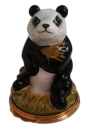 "Panda (18/8940)  2.5"" tall. Bottom: Panda in tree."