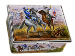 "American Civil War. Rectangle. Cameron & Smith Exclusive.  3.37"" x 2.5"" . Freehand painted by Peter Graves. Limited Edition of 15."