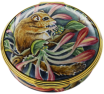 "Dormouse (AK-DM) 2.36"" diameter. Limited Edition of 30. Freehand painted by Angela Roberts."