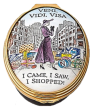 "***On Order*** Veni, Vida, Visa - I Came, I Saw, I Shopped  (46/8109)  1.5"" Oval."
