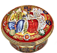 "Queen Mary I & Elizabeth I (33/8984)  2"" diameter. Limited Edition of 100."