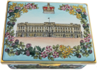 "QE II Golden Jubilee Palaces (11/6801)  2.78"" x 2"" 1""  Inside Lid: ""To Celebrate The Golden Jubilee of Her Majesty Queen Elizabeth II 1952-2002"" Inside base EIIR 2002, 50 & flowers. Sides Windsor Castle Sandringham Holyroodhouse Balmoral LE500 Certificate"