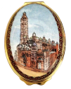 "Westminster Cathedral (02/4724)  2.12"" oval. Limited Edition of 250."