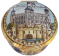 "The Tower of London Halcyon Days (01/8979) 1.62"" diameter. Historical Royal Palaces. Certificate of Authenticity. See Inside Photo for more details."