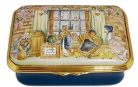 "Customers at Ginger & Pickles's Shop (23/8389) 2.5"" x 1.5""  Limited Edition of 50.  (Beatrix Potter)"