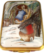 "Gathering Wood (64/8392) 2"" x 1.5""  Limited Edition of 50. (Beatrix Potter)"