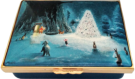 "Winnie The Pooh - Pooh & the Magic Tree (11/8062)  2.87"" x 2"" x 1"" Rectangle. Signed by Peter Ellenshaw with a Certificate of Authenticity. Limited Edition of 250."