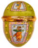 "Winnie the Pooh Easter Bonnet Egg (08/8179) 1.62"" diameter egg (large egg). Limited Edition of 250."