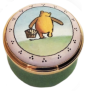 "Winnie the Pooh Time for a Little Picnic (04/4760) .87"".  (Carrying basket with his back to Us)"