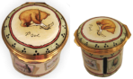 "Winnie the Pooh Stamp Box - Friendship is Spelled YOU (01/5888) 1.62"" diameter. Limited Edition 500."