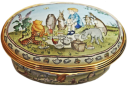 "Winnie the Pooh A Party for Me (09/6484) 2.87"" oval. Limited Edition of 500."