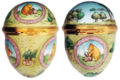 "Winnie The Pooh Picnic Basket Egg (08/5543) 1.62"" diameter. Limited Edition of 1000."
