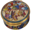 "Teddy Ball (01/4242) 1.62"" diameter. Hinged lid."
